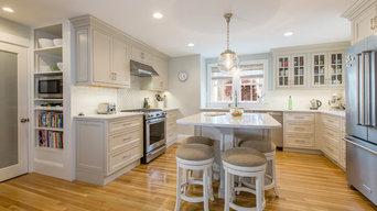 Concord Colonial kitchen