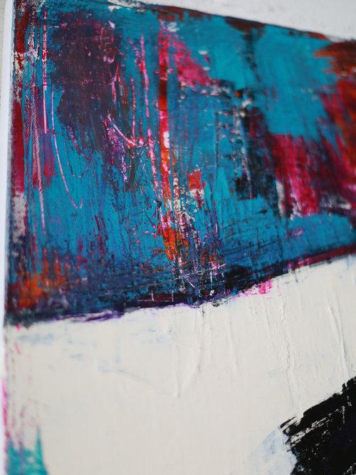 Abstact Art - Acryl on Canvas - Mixed Media - Kunst