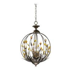 cyan design 4 light pendant amber pendant lighting amber pendant lighting