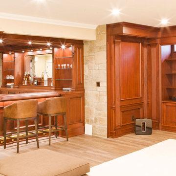 Custom Residential Bar in Mahwah, NJ.