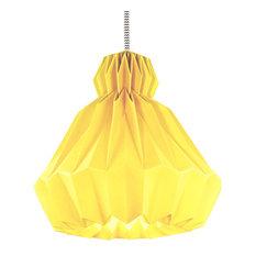 Droobski DressedUp Pendant Lamp, Yellow, Grande