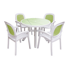 Toscana 5-Piece Outdoor Dining Set With Beta Chairs