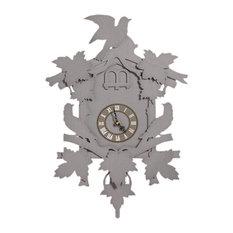 Cuckoo Clock, Grey, Large
