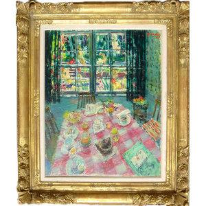 Dimitrie Berea, The Breakfast In Paradise, Oil Painting