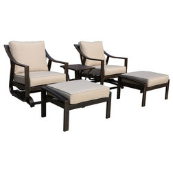 Transitional Outdoor Lounge Sets by iPatio Furniture
