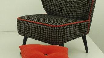 Petit fauteuil scandinave