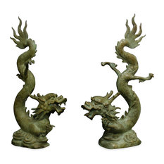Dragon Garden Statues and Yard Art Houzz