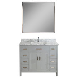 Transitional Bathroom Vanities And Sink Consoles by Studio Bathe