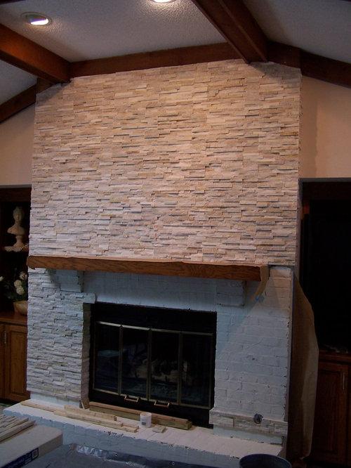 Quartz Fireplace Chase