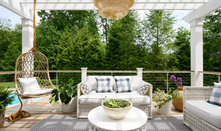 Deck of the Week: Pergola-Covered With a Pass-Through Window