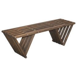 Contemporary Outdoor Benches by GloDea