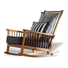 - Rocking-chair INOUT 709 de Gervasoni - Chaise et Fauteuil à Bascule