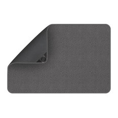 Attachable Rug for Stair Landings, Gray, 3'x3'