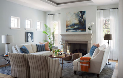 New This Week: 4 Stylish Living Rooms With Plenty of Seating