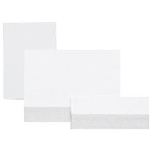 Isaac 3-Piece Cot Bedding Set, Grey, 100x165 Cm