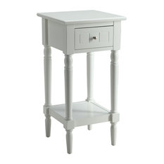 Convenience Concepts French Country Khloe Square End Table In White