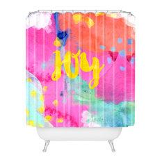 "Hello Sayang Oui Joy Shower Curtain, Standard 69""x72"""