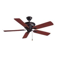 "Volume Lighting V4145 Rainier 5 Blade 52"" Indoor Ceiling Fan"