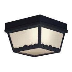 OUTDOOR ESSENTIALS ceiling lamp Black 1x
