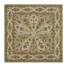 "Kaleen Tara Square Collection Rug, 9'9""x9'9"" Square"