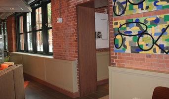 Chjristine Vaillancourt Artist, Boston Marriott Residence Inn Ft. Point Channel