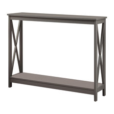 Contemporary entryway furniture Corridor Convenience Concepts Oxford Console Table Gray Console Tables 50 Most Popular Contemporary Entryway Furniture For 2019 Houzz