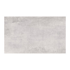 Concrete Wall and Floor Tiles, Grey, Set of 20 m²