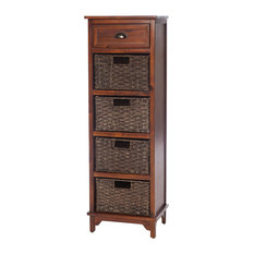 Libra Wooden Chest, 5 Drawers
