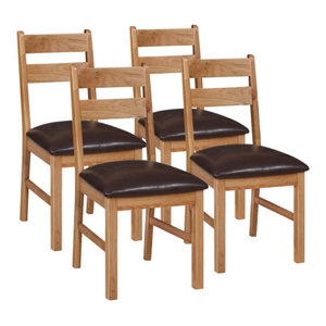 Otago Low Dining Chairs, Set of 4