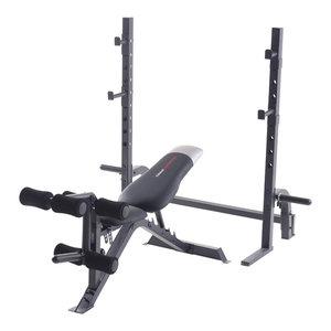 Power Rack And Bench Contemporary Home Gym Equipment