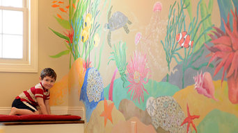 Under the Sea Childrens Nook Mural