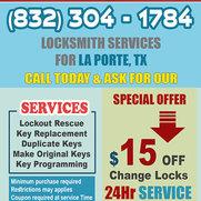 Locksmith La Porte Texas's photo
