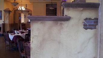 Decorative Work In Restaurant
