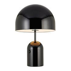 Bell Table Light, 60x40 Cm, Black