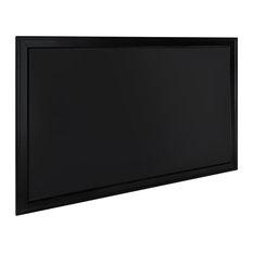Bosc Framed Magnetic Chalkboard, Black 27.5x43.5