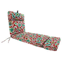 Outdoor Chaise Lounge Cushion, Multi color