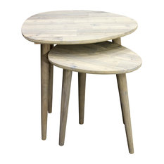 Scandi Nesting Side Tables, Set of 2