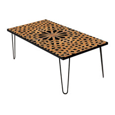 "Arabesque Hex 24"" Coffee Table"