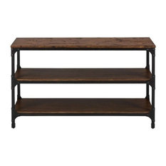 Bowery Hill   Bowery Hill Wood Console Table, Pine   Console Tables
