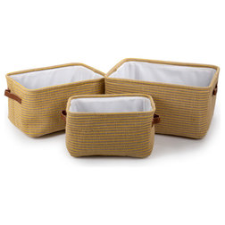 Farmhouse Storage Bins And Boxes by CTG Brands Inc.