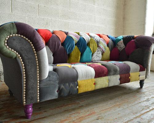 Wondrous Patchwork Chesterfield Sofa Home Decor 88 Home Interior And Landscaping Sapresignezvosmurscom