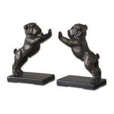 Uttermost Bulldogs Bookends, Set of 2
