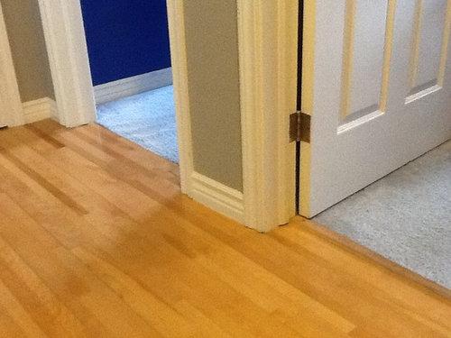 Old oak flooring in hallways, considering dark laminate in ...