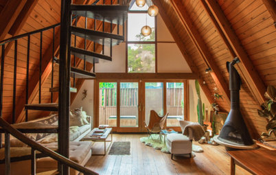 Houzz TV: Showing Her Creative Side in a Classic Los Angeles A-Frame
