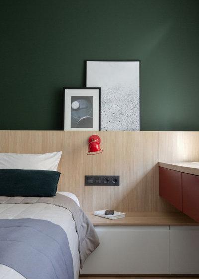 Современный Спальня by Tatiana Sauliak Interior Design