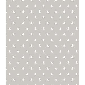 Lola Dinghy Linen PVC Tablecloth, 140x140cm