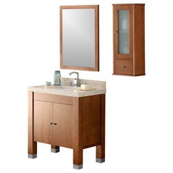 Ideal Contemporary Bathroom Vanities And Sink Consoles by Ronbow Corp