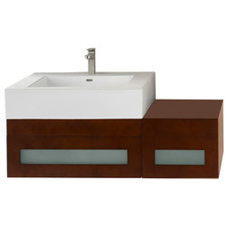 Spectacular Contemporary Bathroom Vanities And Sink Consoles by Ronbow Corp