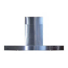 Spagna Vetro Wall-Mounted Stainless St Range Hood, 30""