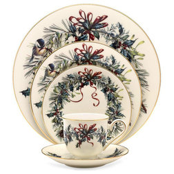 Traditional Holiday Dinnerware by Unique Gifts